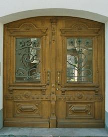 Haustüren holz antik  Antike Haustür